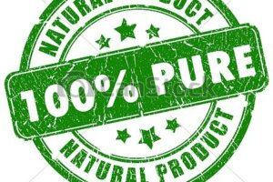 100% PURE NATURAL PRODUCT stamp